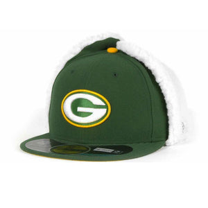 Green Bay Packers 59FIFTY NFL Dog Ear Fitted Cap