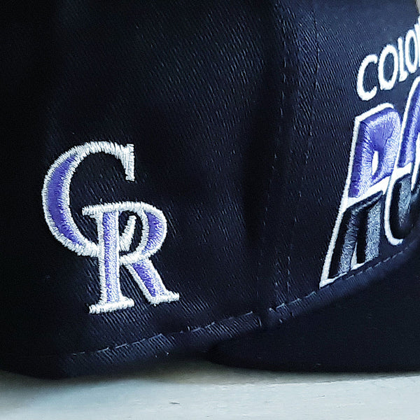Colorado Rockies 9FIFTY Adjustable MLB Baseball Cap - size small/medium