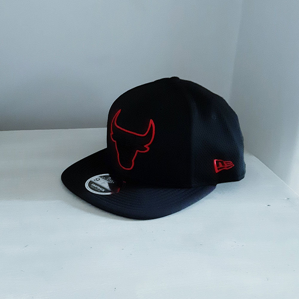 Chicago Bulls NBA 9FIFTY Outlined Logo Adjustable Cap  - size small/medium