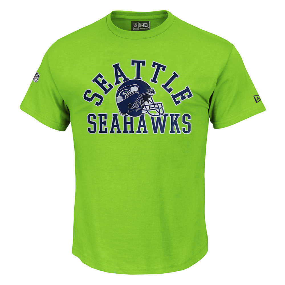 Seattle Seahawks NFL Action Green New Era T shirt
