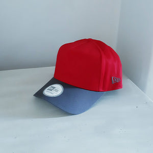 New York Yankees MLB A-Frame Adjustable Red Snapback Cap