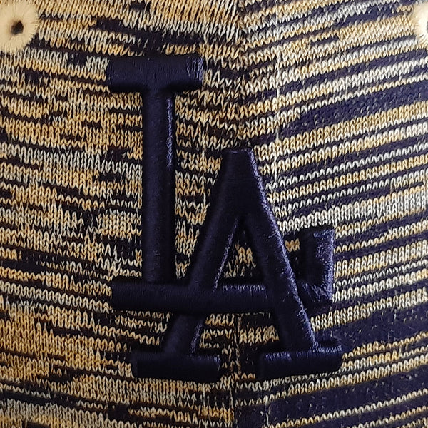 LA Dodgers Burnt Yellow MLB Adjustable Cap - size small/medium