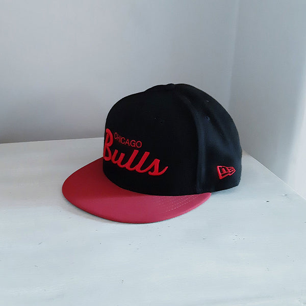 Chicago Bulls Text 59FIFTY NBA Fitted Baseball Cap