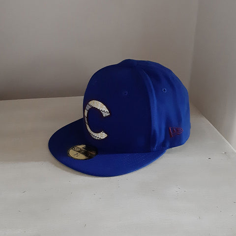 Chicago Cubs MLB 59FIFTY Team Filling Fitted Baseball Cap