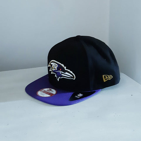 Baltimore Ravens 9FIFTY Adjustable NFL Cap - size small/medium