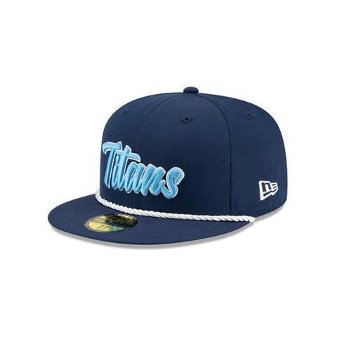 Tennessee Titans New Era NFL Sideline 1960 59FIFTY Fitted Cap