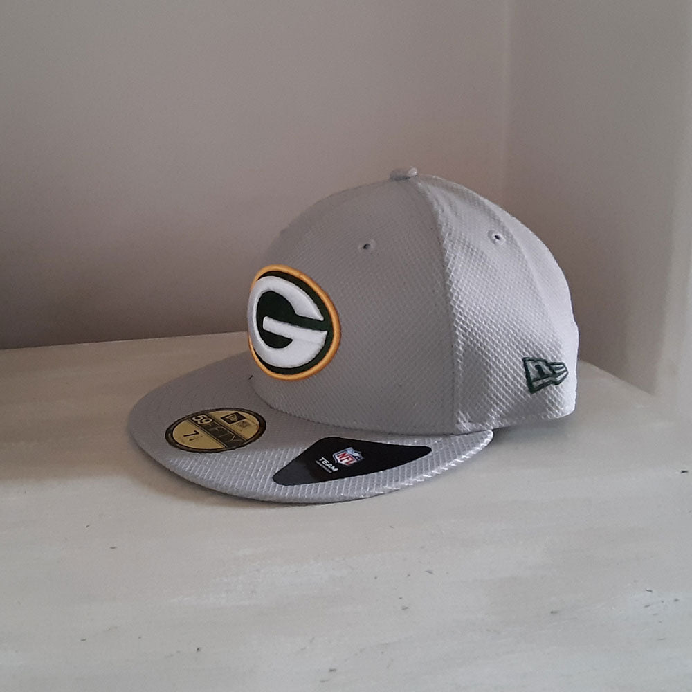 Green Bay Packers NFL 59FIFTY Diamond Era Fitted Cap - size 7 1/4