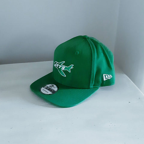 New York Jets 9FIFTY Jet Logo Snapback Hat - size small/medium