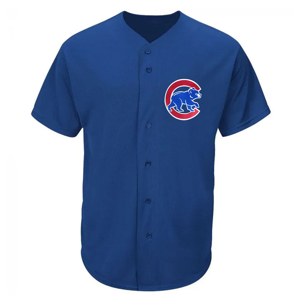 Chicago Cubs Cool Base Pro Style MLB Game Jersey