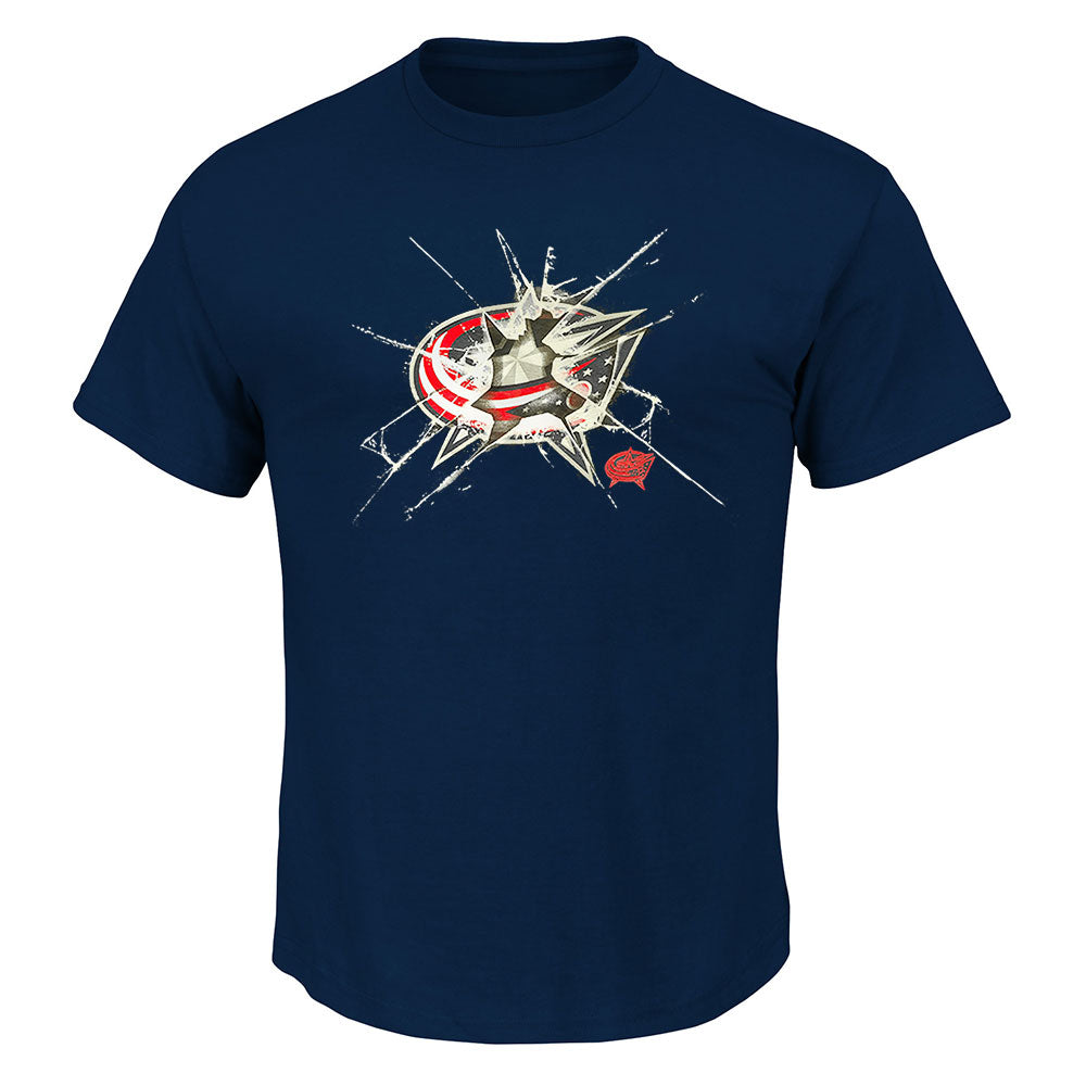 Columbus Blue Jackets NHL Poke Check T Shirt