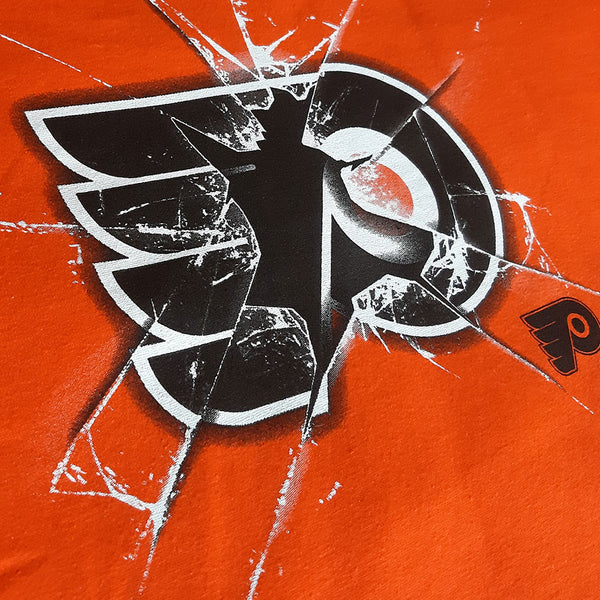 Products Philadelphia Flyers NHL Poke Check T Shirt