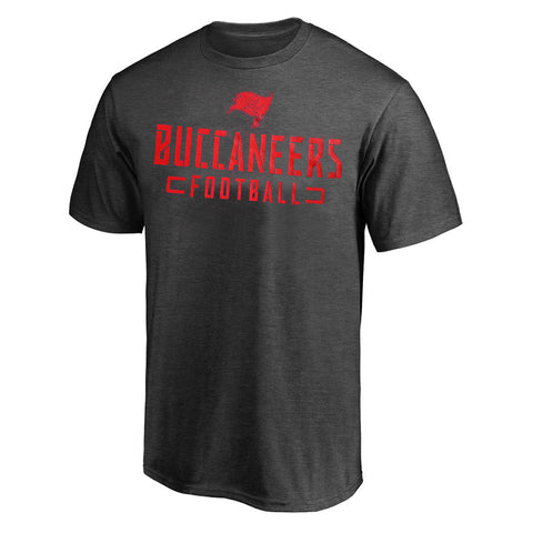 Tampa Bay Buccaneers Charcoal NFL T shirt
