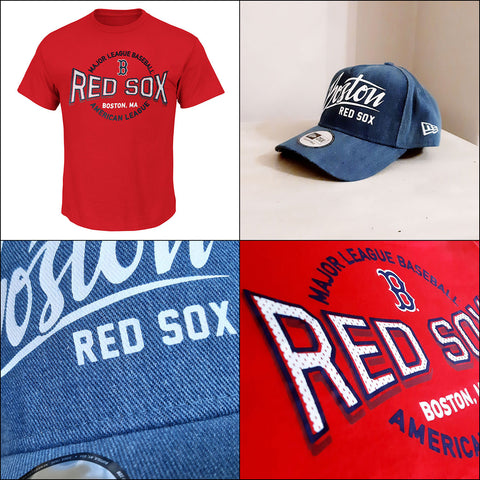 Boston Red Sox 'Beat Em' MLB Tee + New Era A Frame Adjustable Cap
