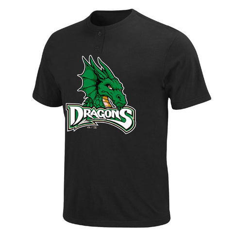 Cincinnati Reds Dayton Dragons MLB Affiliate YOUTH MiLB 2 Button T shirt