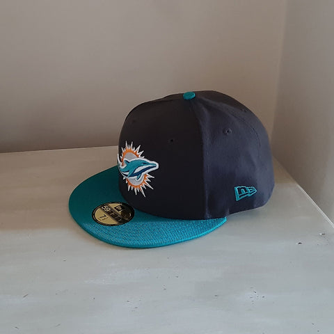 Miami Dolphins Ballistic Visor NFL 59FIFTY Fitted Baseball Cap