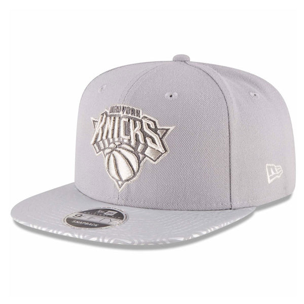 New York Knicks New Era NBA Street 9FIFTY Grey Cap