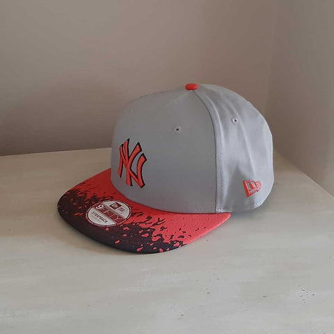 New York Yankees MLB 'Lava' Strapback 9FIFTY Adjustable Baseball Cap
