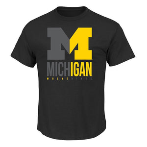 Michigan Wolverines 'Cut Above' NCAA T shirt