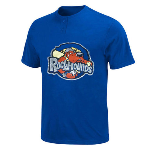Oakland Athletics MLB Affiliate - Midland RockHounds MiLB 2 Button T shirt