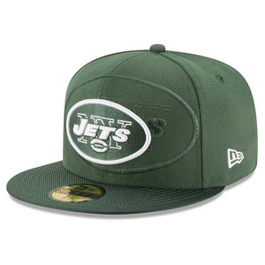 New York Jets NFL Retro Sideline 59FIFTY Fitted Baseball Cap