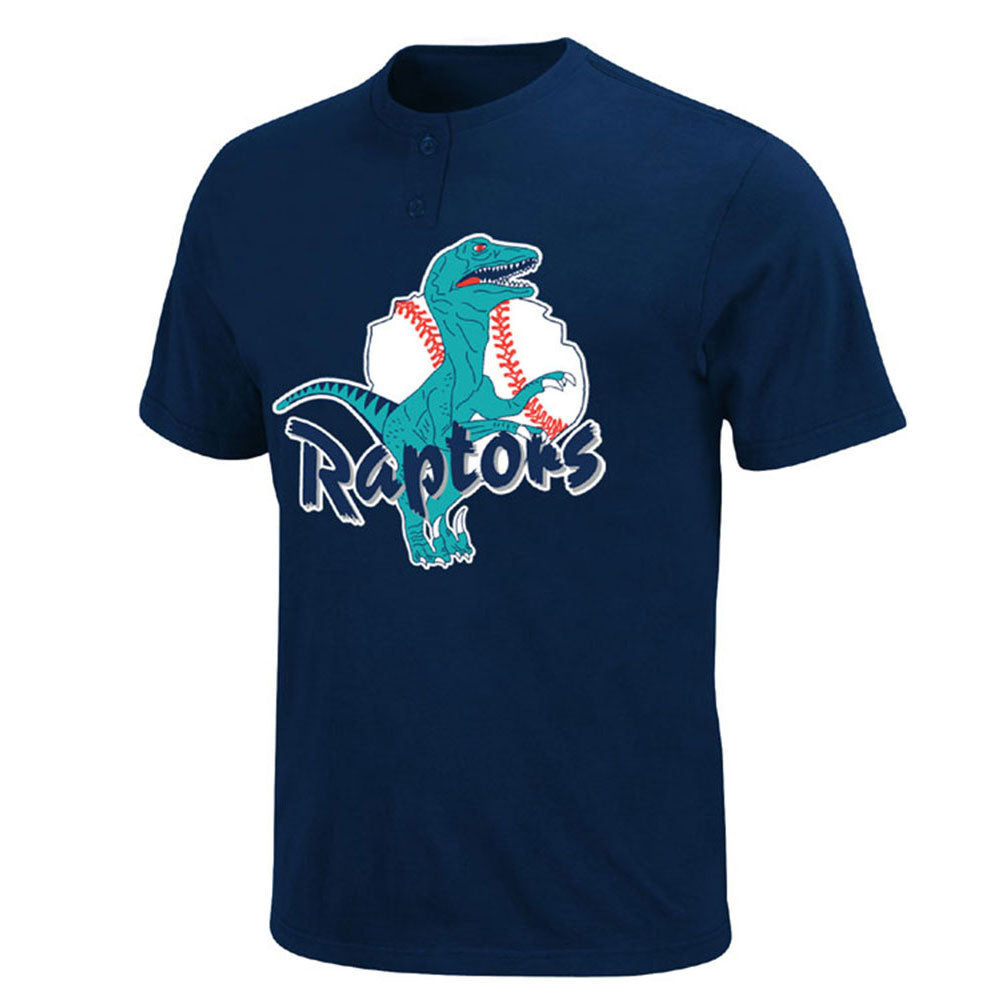LA Dodgers MLB Affiliate Ogden Raptors YOUTH MiLB 2 Button T shirt
