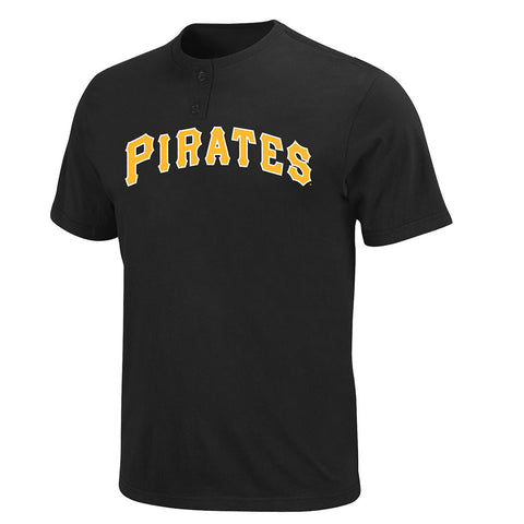 Pittsburgh Pirates MLB 2 Button Logo T Shirt