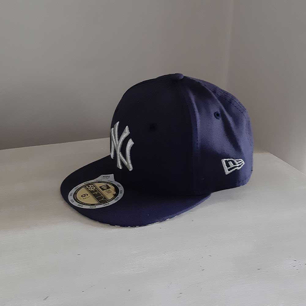 New York Yankees 59FIFTY KIDS Fitted MLB Baseball Cap