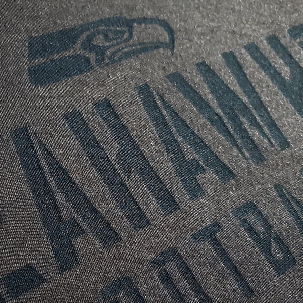 Seattle Seahawks Charcoal NFL T shirt