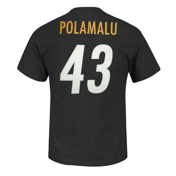 Pittsburgh Steelers Troy Polamalu NFL Player T shirt