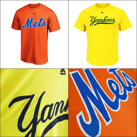 Products Two New York Performance MLB T shirts - Yankees and Mets