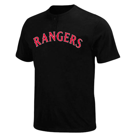Texas Rangers MLB 2 Button Logo T Shirt