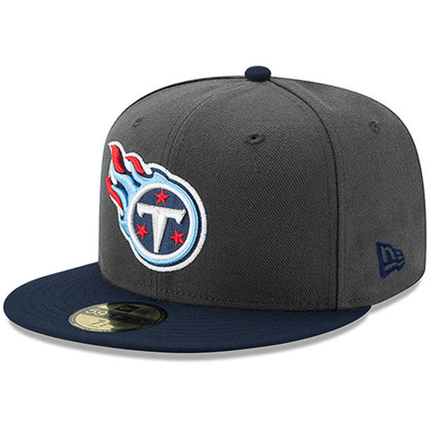 Tennessee Titans Ballistic Visor NFL 59FIFTY Fitted Baseball Cap