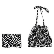 Load image into Gallery viewer, Basket Liner-Zebra/White