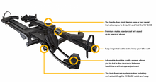 Load image into Gallery viewer, Kuat NV 2.0 Base Hitch Bike Rack - 2-Bike 2 Receiver Black