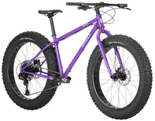 "Load image into Gallery viewer, Surly Wednesday Fat Bike - 26"", Steel, All-Natural Grape, Large (PRE-ORDER DEC/JAN DELIVERY)"