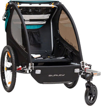 Load image into Gallery viewer, Burley Encore X Child Trailer: Turquoise