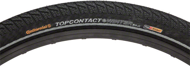 Continental Top Contact Winter II Tire 700 x 37 (Clincher, Folding)-Black