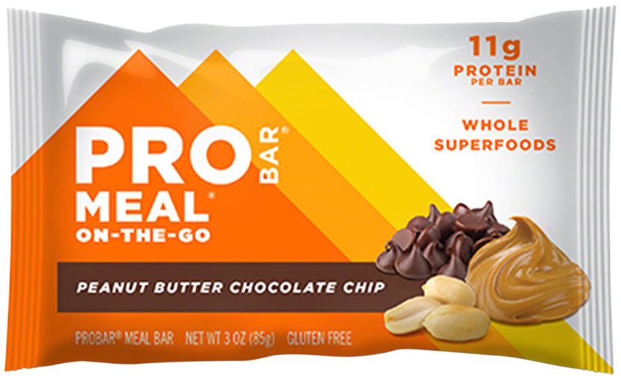 ProBar Meal Bar: Peanut Butter Chocolate Chip Box of 12