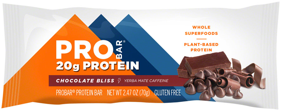 ProBar Protein Bar - Chocolate Bliss with Caffeine Box of 12