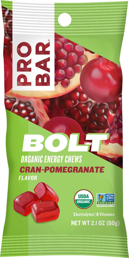 ProBar Bolt Chews: Cran-Pomegranate Box of 12