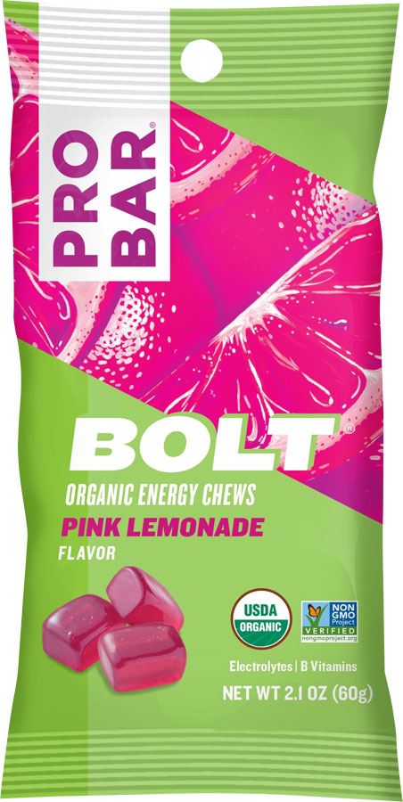 ProBar Bolt Chews: Pink Lemonade Box of 12