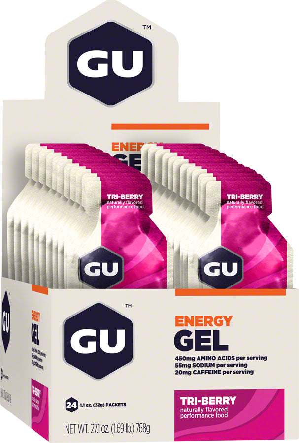 GU Energy Gel: Tri Berry