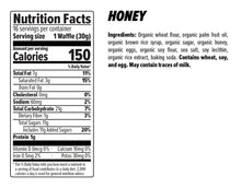 Load image into Gallery viewer, Honey Stinger Organic Waffle: Honey