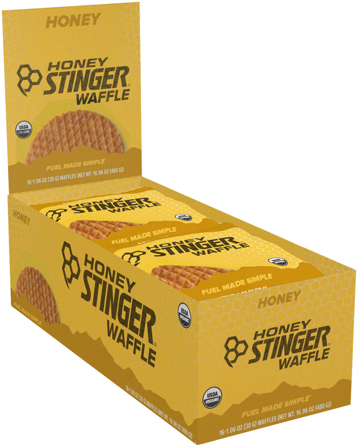 Honey Stinger Organic Waffle: Honey