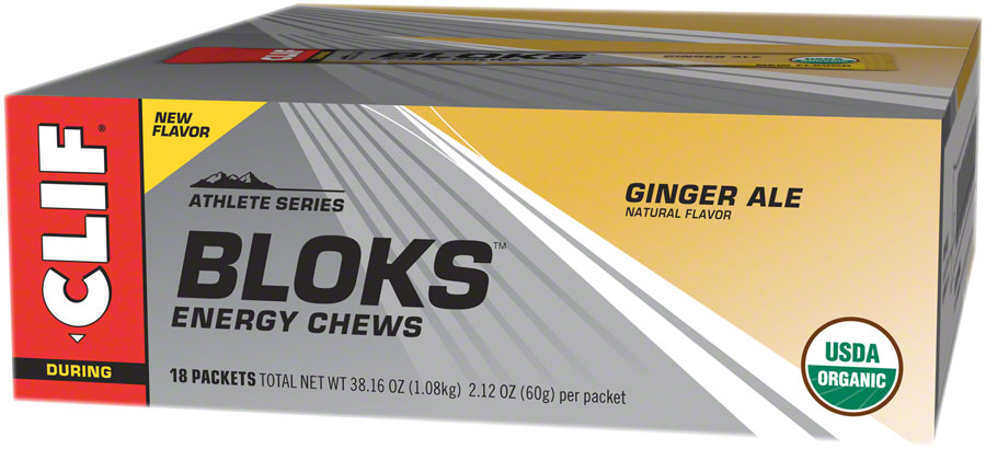 Clif Shot Bloks: Ginger Ale Box of 18