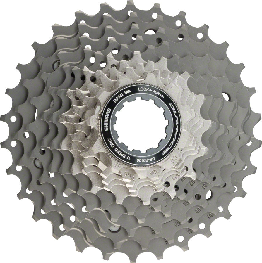 CASSETTE SPROCKET, CS-R9100, 11-SPEED, 1.00 11-12-13-14-15-17-19-21-24-27-30