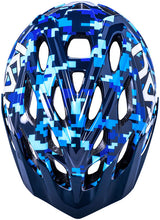 Load image into Gallery viewer, Kali Protectives Chakra Youth Helmet-Pixel Blue (18 Months-3 Years Old)