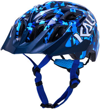 Kali Protectives Chakra Youth Helmet-Pixel Blue (18 Months-3 Years Old)