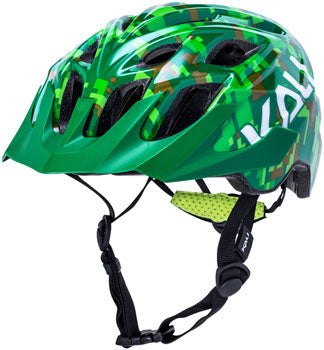 Kali Protectives Chakra Youth Helmet-Pixel Green (18 Months-3 Years Old)