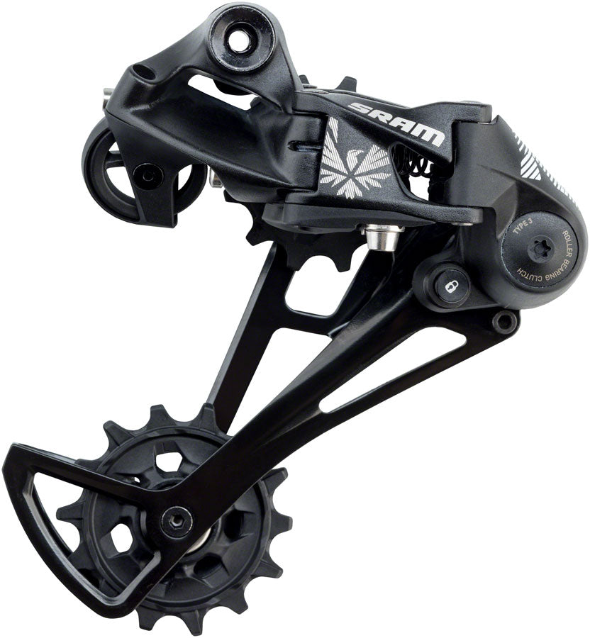 SRAM NX Eagle Rear Derailleur 12 Speed, Long Cage-Black
